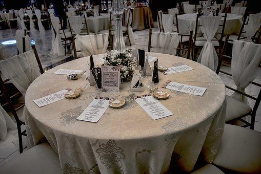 Table, Decoration, Restaurant, Style, Elegant, Dinner