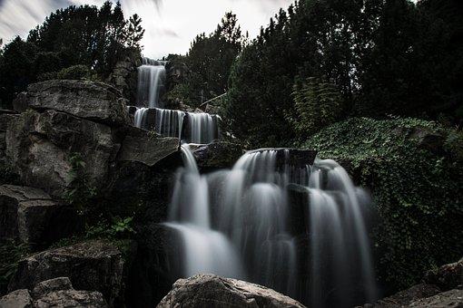 Cascada, Water, Nature, River, Landscape, Forest, Bach