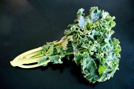 Kale, Kale Bunch, Kale Leaves, Kale Greens, Greens