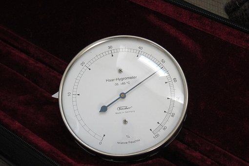 Hydrometer, Ad, Scale, Humidity, Watches, Velvet