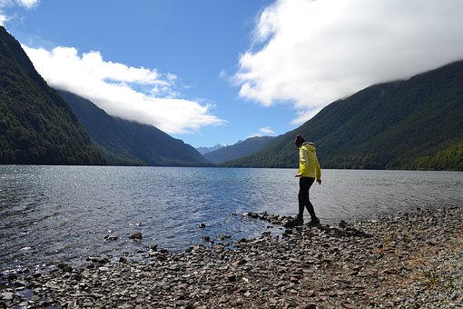 New Zealand, Lake, National Park, Water, Mountains