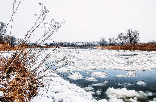 Floe, Winter, Snow, Cold, Ice, Landscape, River, Season