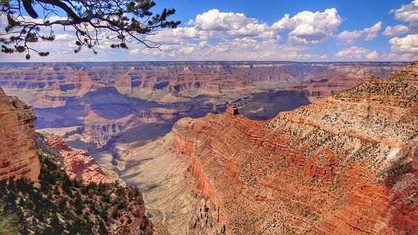 Usa, Canyon, Gorge, Arizona, Sand Stone, Landscape
