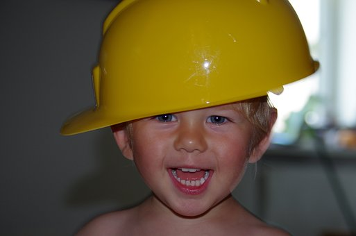 Child, Build, Boy, Play, Work, Small Child, Luck