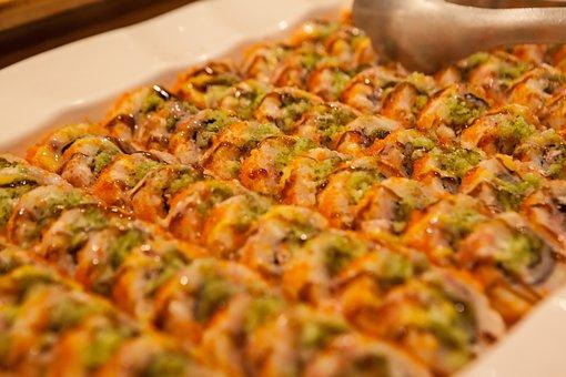 Riceroll, Kimbab, Kim Rice, Food, Buffet, Market Buffet
