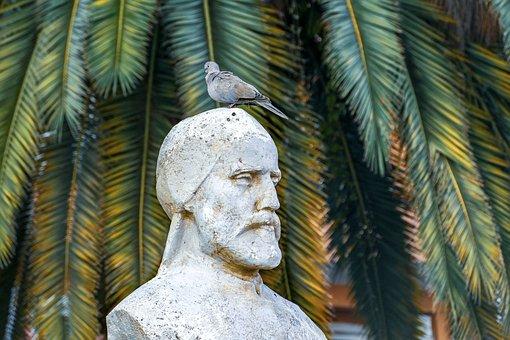Sculpture, Bird, Monument, Statue, Stone, Figure, Peace