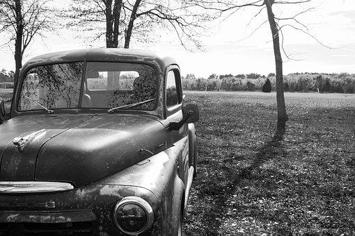 Truck, Old, Retro, Vintage, Pickup, Vehicle