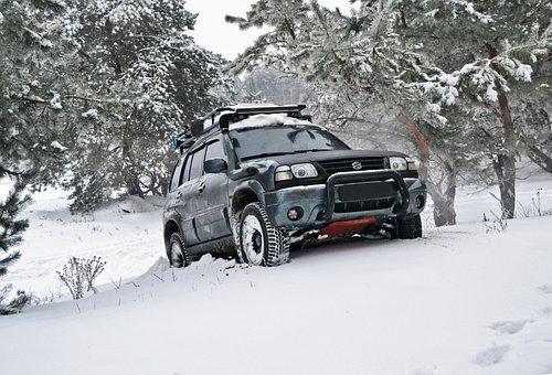 Suzuki, Grand Vitara, Off Road, Jeep, Car, Sports