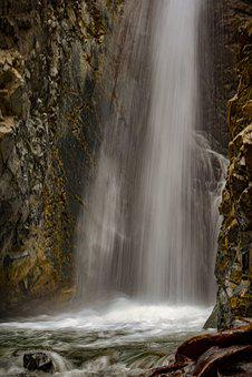 Waterfall, Water, Nature, River, Scenic, Fall