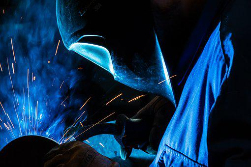 Safety At Work, Work, Weld, Work Clothes, Industry