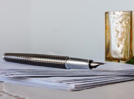 Pen, Correspondence, Greeting, Writing, Write, Paper
