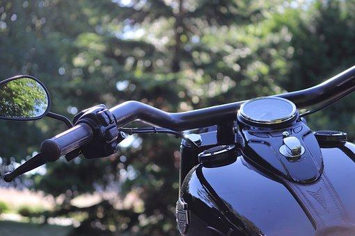 Harley, Davidson, Motorcycles, Bike, Handlebars