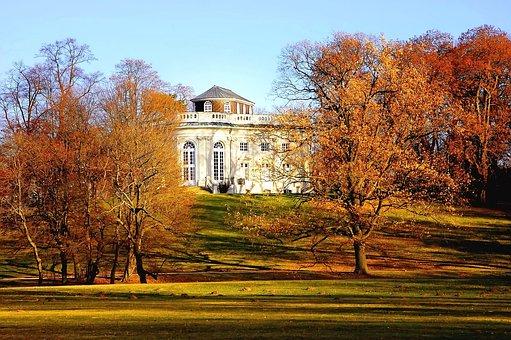 Castle Richmond, Braunschweig, Park, Germany, Landscape