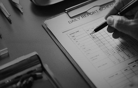 Care, Checking, Checklist, Clinic, Closeup