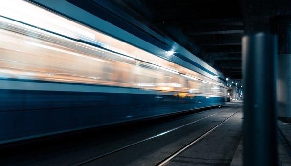 Tram, Public Means Of Transport, Traffic, City, Urban