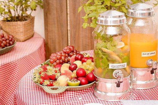 Juice, Fruit, Party, Picnic