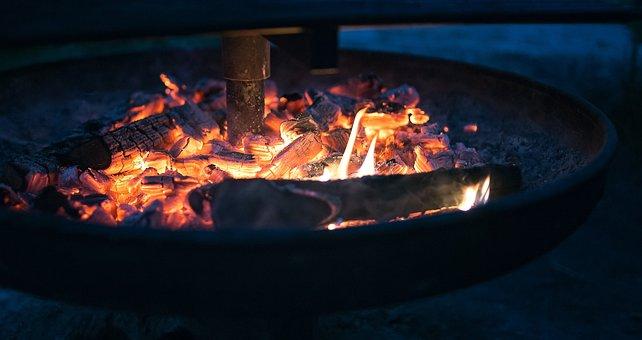 Fire, Embers, Flame, Hot, Burn, Wood, Fireplace, Heat