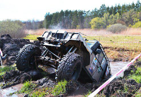 Off Road, Mud, Dirty, Auto, Extreme, Rover, Wheel, Jeep