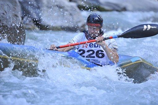 Kayak, Canoe, Ubaye, Lauzet, Water-vives, Nature