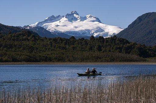 Nature, Landscape, Kayak, Canoe, Clouds, Landscapes