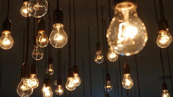 Light Bulbs, Lights, Lamp, Idea, Light Bulb, Light