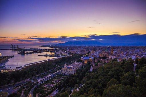 Malaga, Spain, Beach, Sea, Ocean, Analuzja