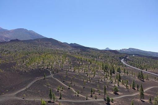 Tenerife, Teide, Landscape, Nature, Volcano