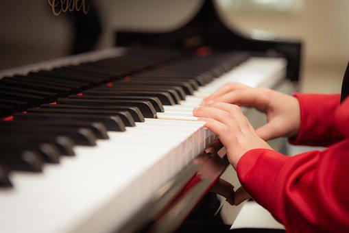 Piano, Playing, Learning, Piano Lesson
