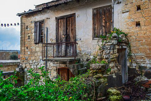 House, Old, Architecture, Building, Abandoned, Facade