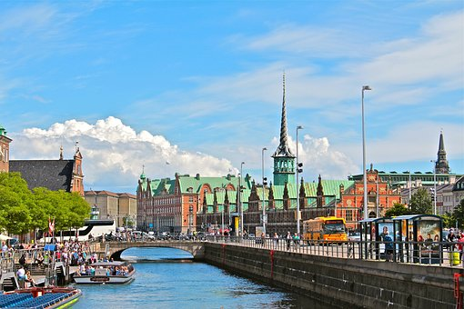 Copenhagen, Denmark, City, Architecture, Landmark