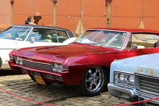Auto, Retro, Classic, Vehicle, Car, Nostalgia, Vintage