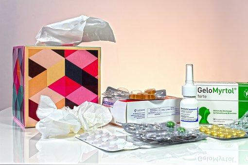 Cold, Sniff, Ill, Handkerchief, Disease, Health
