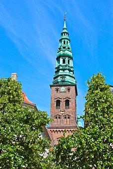 Copenhagen, Denmark, City, Architecture, Landmark
