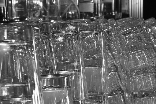 Glass, Drinking Glass, Bar, Glasses, Drink, Cocktail