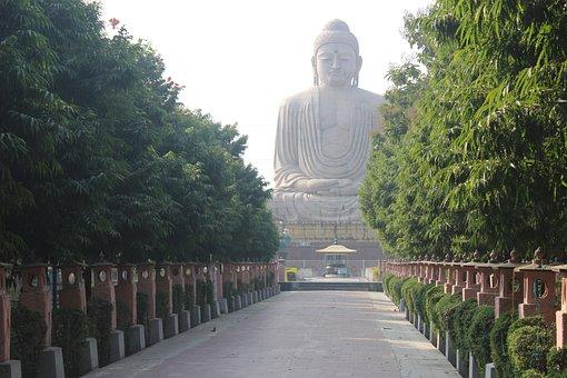 Lord, Buddha, Ancient, Pagoda, Sculpture, Buddhist