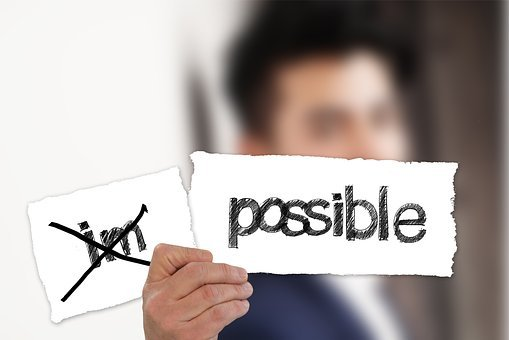 Businessman, Possible, Impossible, Opportunity, Option