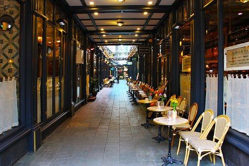 Arcade Walkway, Passage, Alleyway, Window, Way