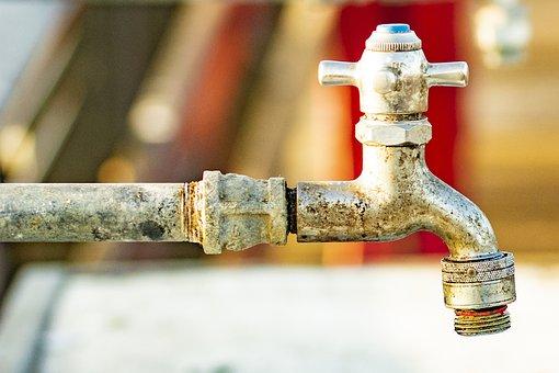 Faucet, Pipes, Plumbing, Metal, Valve, Steel, Industry