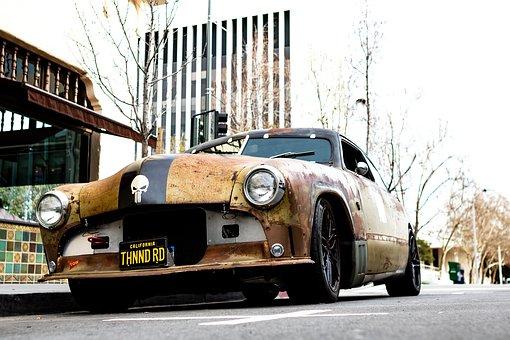 Race Car, Wreck, Palo Alto, Silicon Valley