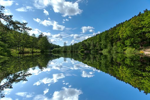 Nature, Water, Landscape, Lake, Summer, Reflections