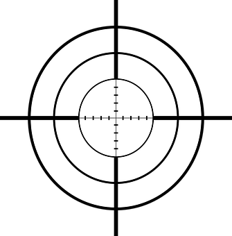 Sniper, Cross Hairs, Rifle, Crosslines, Cross-hair