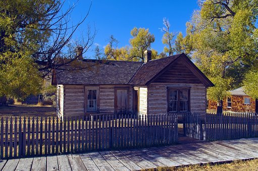 Doctor Ryburns House, Bannack, State, Park, Ghost, Town