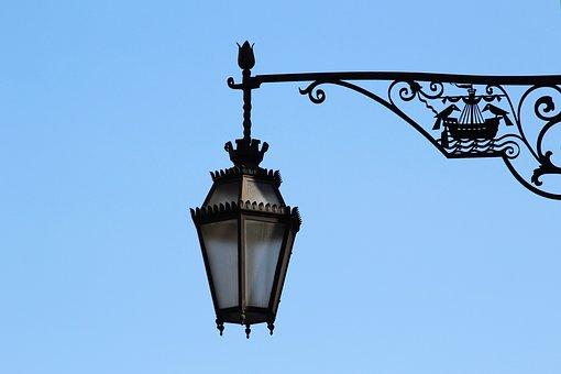 Lamp, Street Lamp, Light, Lighting, Isolated, Ornament