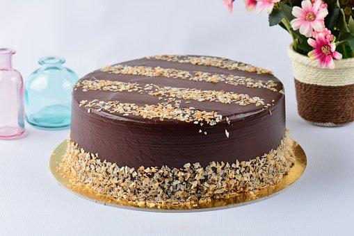 Ferrero Rocher Cake, Cake, Dessert, Delicious, Sweet