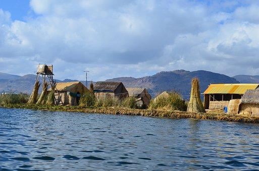 Puno, Lake, Quechua, Titicaca, Titikaka, Floating
