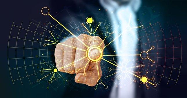 Web, Network, Technology, Developer, Touch, Finger