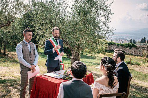 Wedding, Tuscany, Italy