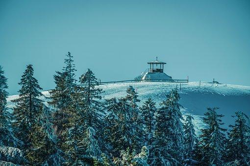 Winter, Ski Area, Panorama, Wintry, Snow, Mountain