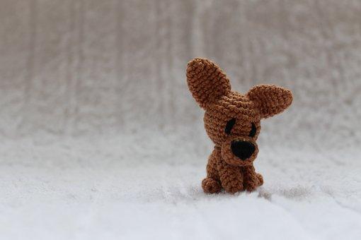 Puppy, Toy, Crochet, Chihuahua, Dog, Animal, Pet