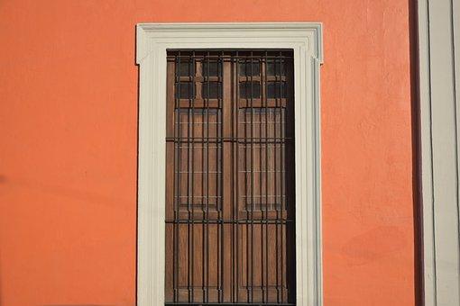 Window, Street, Orange, Architecture, House, Facade